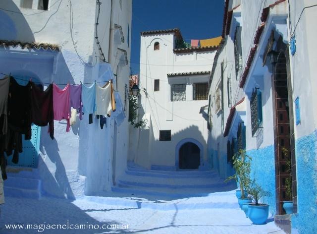 Ciudad Azul en Marruecos