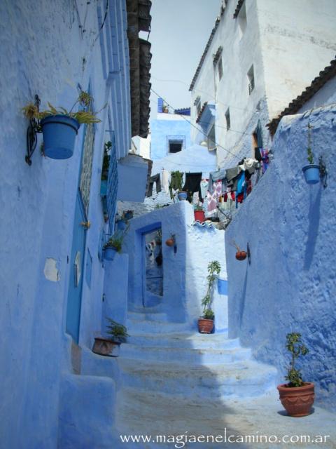 Ciudad azul, Marruecos