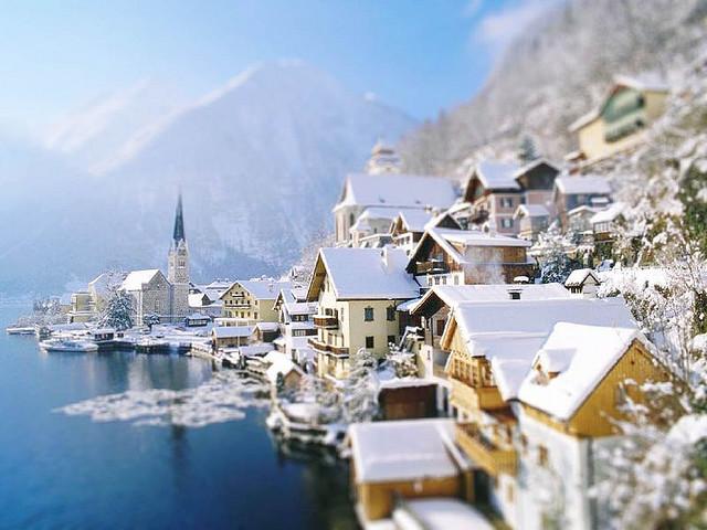 pueblo, turismo en Austria