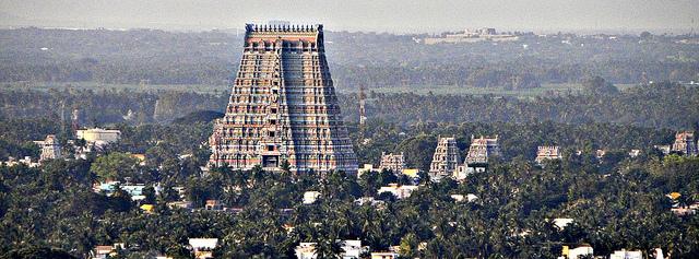 Los templos Vímana, en India ...