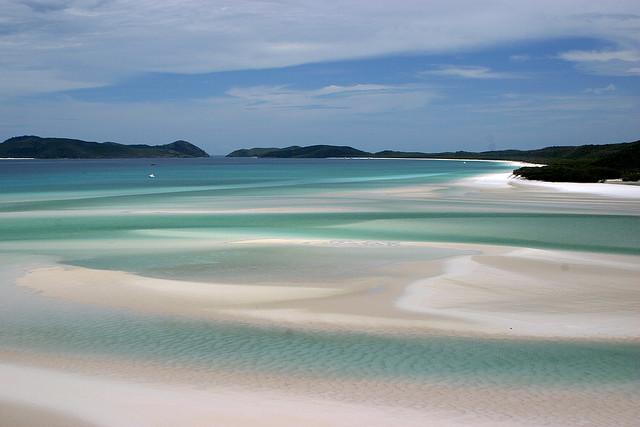 Una playa gigante, de arenas blancas y mar turquesa