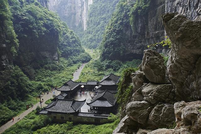 three-natural-bridges-china