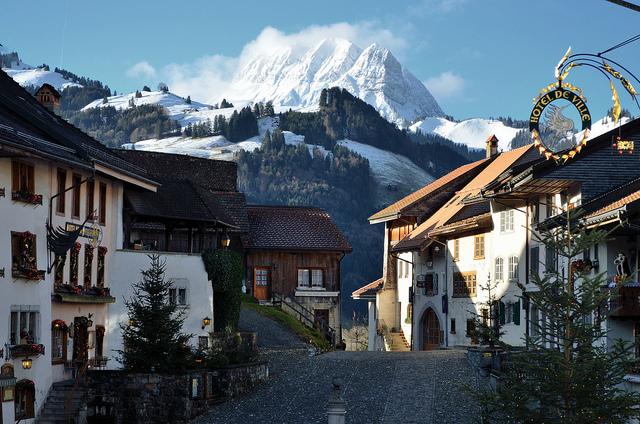 paisajes de Suiza