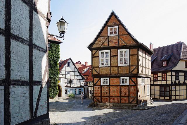 ciudad alemana de arquitectura entramada