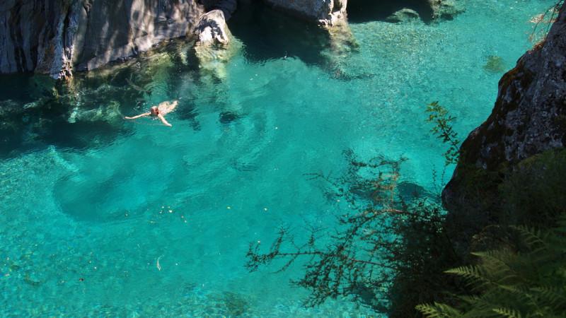12 lugares que parecen de fantas a en nueva zelanda 101 for Piscinas naturales pais vasco