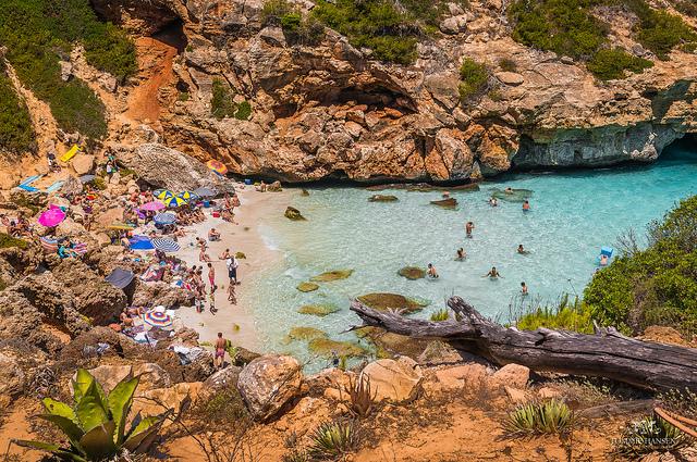 calas más bonitas en Mallorca y Menorca