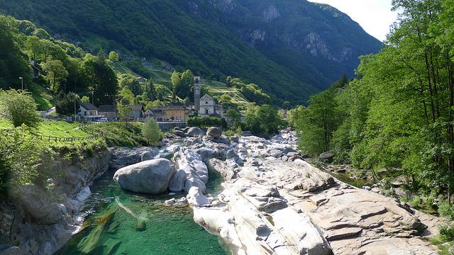 Lavertezzo-suiza