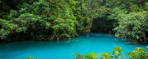 Un río de cinco colores, y nueve ríos de agua turquesa