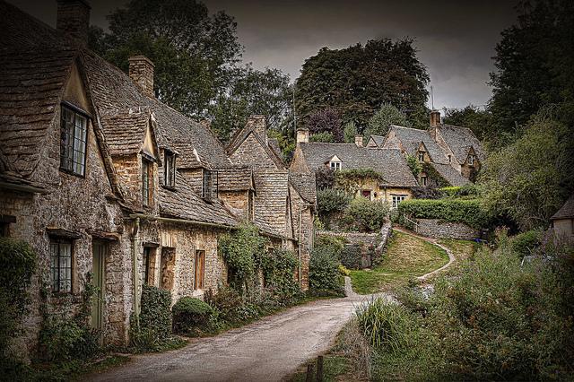 bibury-Inglaterra-pueblo-hobbit