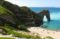 Una playa que tal vez no imaginarías en Reino Unido