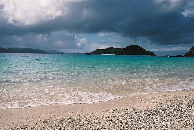 Una playa que no imaginas en Japón