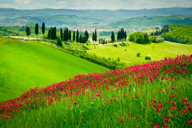 20 pueblos de la toscana tan bonitos que invitan a for Piani di campagna in collina