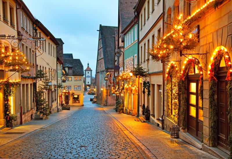 rothenburg-en-navidad