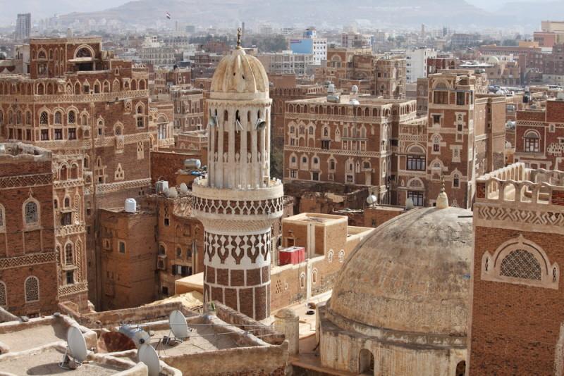 Esta es Saná, la capital de arquitectura más inusual que ...