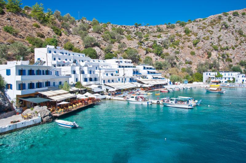Baños Antiguos Grecia:Este pueblo escondido de Grecia está junto a una piscina natural y