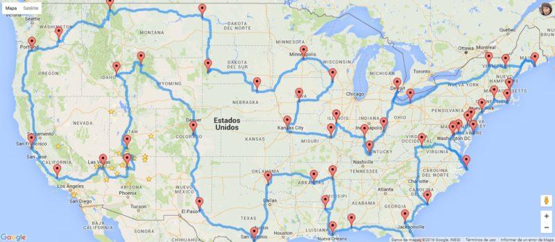 mapa-ruta-en-coche-por-paisajes-estados-unidos