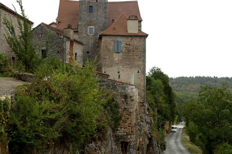 ruta en coche Francia Lot
