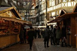 Cuando la Navidad llega a Estrasburgo en Alsacia
