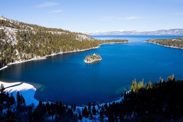 Una pequeña isla en un paraíso de montaña (Lago Tahoe, Estados Unidos) - 101 Lugares increíbles