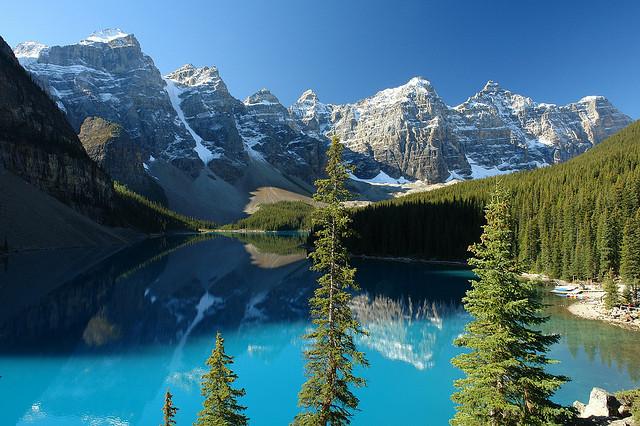 El Parque De Los Lagos De Agua Turquesa En Canad Parque Nacional Banff 101 Lugares Incre Bles