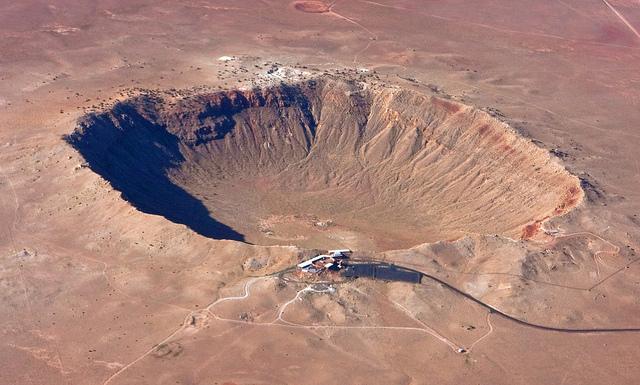 Resultado de imagen de El Cráter de Arizona