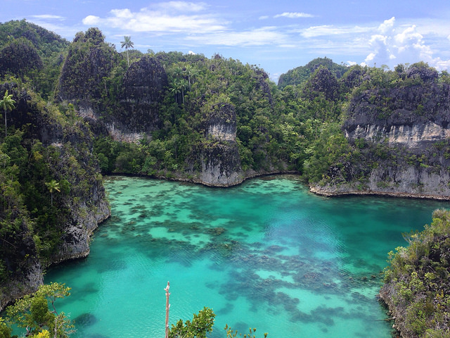 """Un """"Amazonas"""" submarino en Indonesia (Raja Ampat) - 101 Lugares increíbles"""