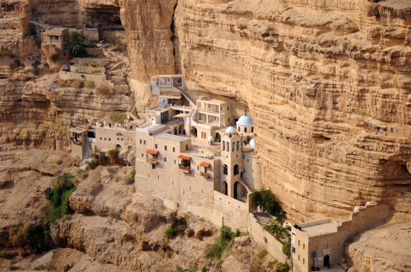 Wadi-Qelt-monasterio