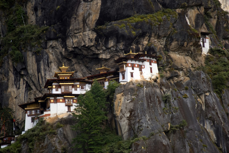 Taktshang-monasterio
