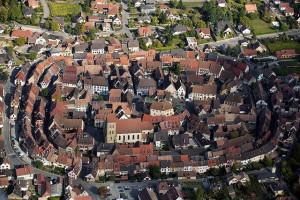 Entre los pueblos que parecen sacados de un cuento, Eguisheim (Francia)