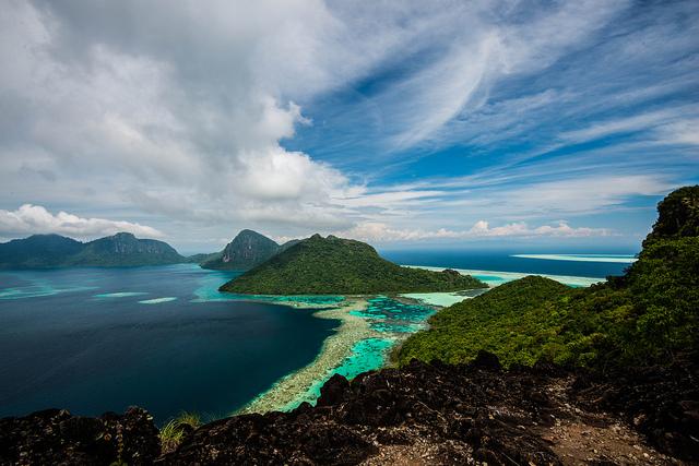 Entre las islas de agua turquesa que de tan bonitas no parecen reales, Bohey Dulang (Malasia) - 101 Lugares increíbles