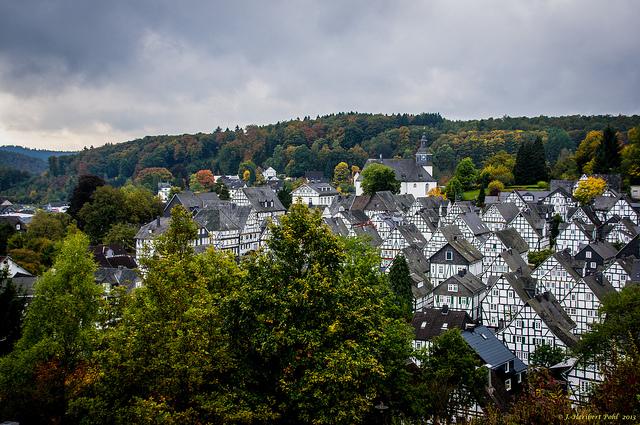 Entre los pueblos que no pueden más de bonitos, Freudenberg (en Alemania) - 101 Lugares increíbles