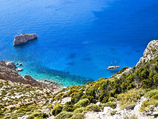 10 rincones de Grecia donde el mar parece una piscina natural - 101 Lugares increíbles