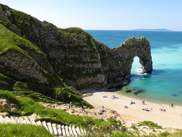 Una playa que tal vez no imaginarías en Reino Unido - 101 Lugares increíbles