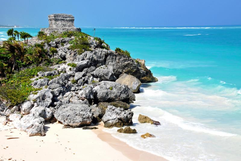 6 playas que parecen una piscina natural en la riviera - Piscinas naturales mexico ...