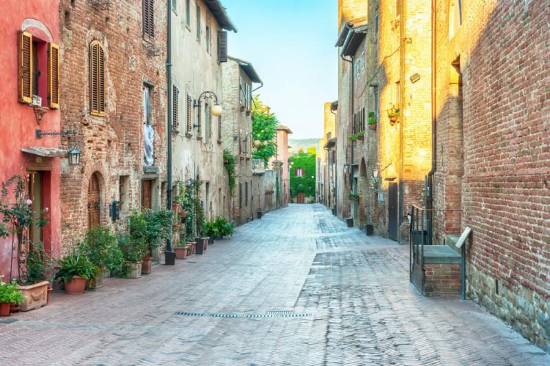 certaldo-toscana-italia