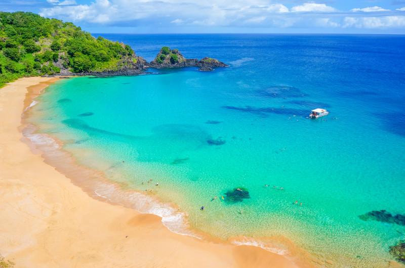 5 playas donde el mar parece una piscina natural en brasil for Fondos de piscinas dibujos
