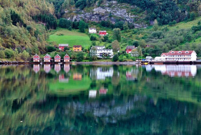 Aurlandsfjorden-fiordo