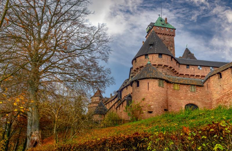 castillo-Haut-Koenigsbourg