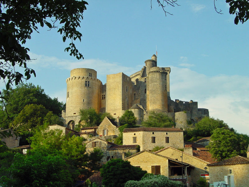 Chateau de Bonaguil, Lot et Garonne, France, Sept. 2008