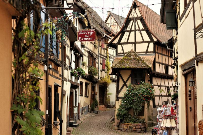 guía de viaje a Alsacia