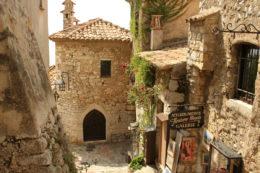"""Un pueblo que es un arca medieval """"colgado"""" en la Costa Azul (Eze, Francia) #relatodeviaje"""