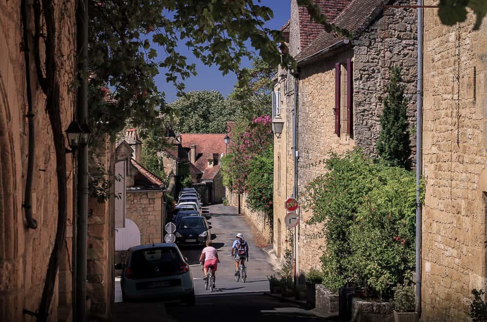 Domme en el Valle del Dordogne