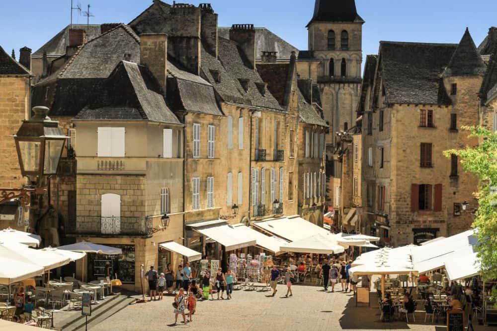 Sarlat la Caneda en Dordogne