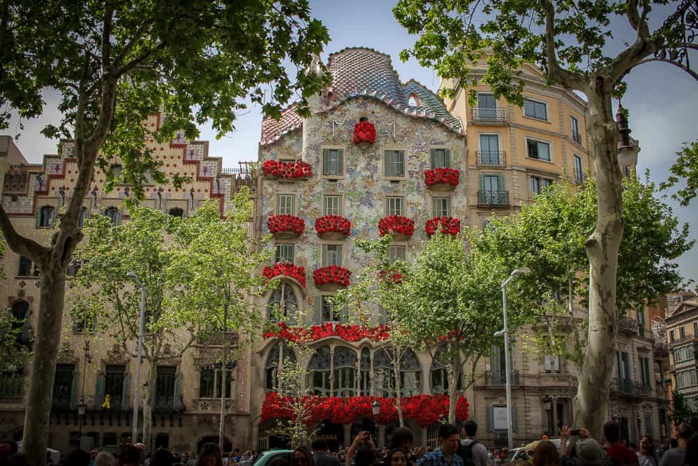 foto de exterior Casa Batlló