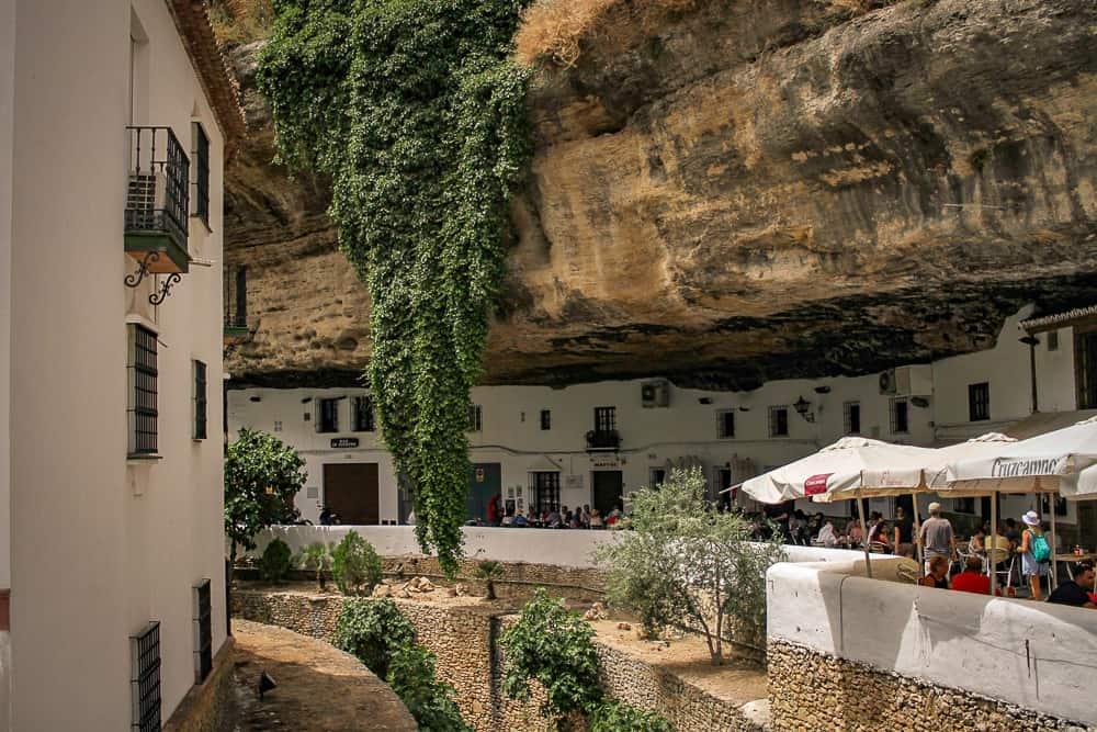 foto de Setenil en Cadiz