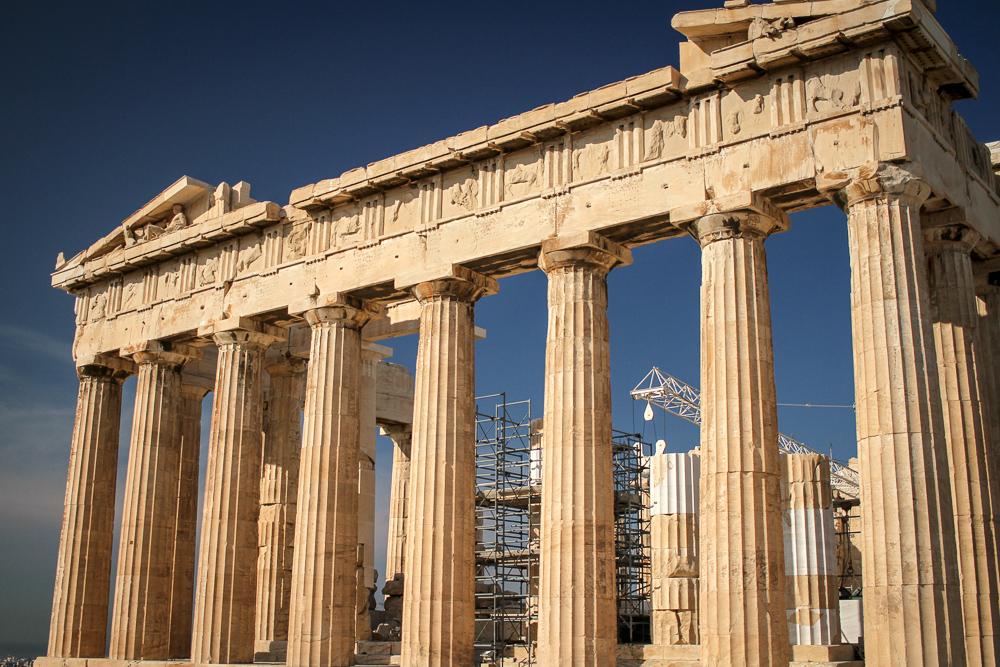 Como visitar la Acropolis de Atenas