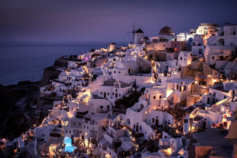 pueblos que ver en Santorini