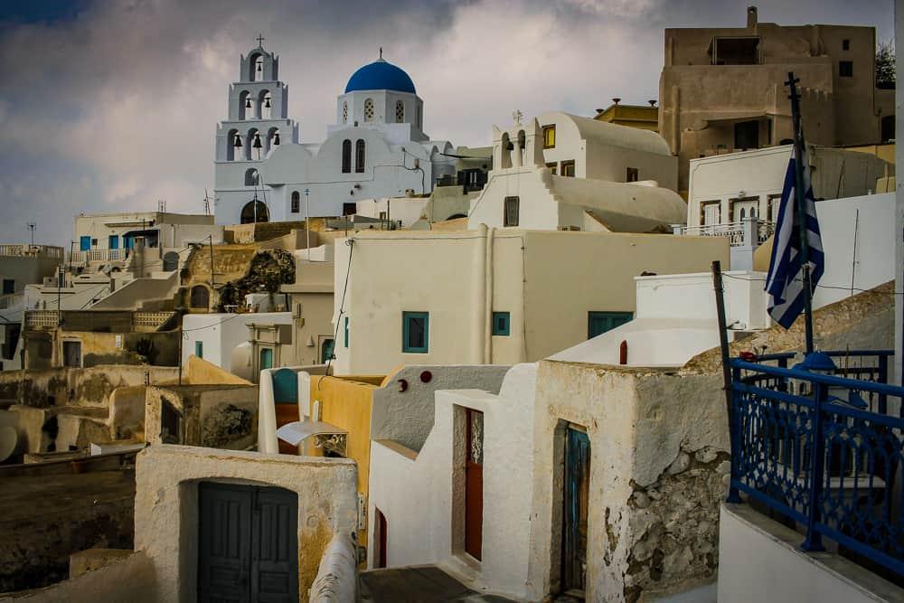 pueblos bonitos de Santorini