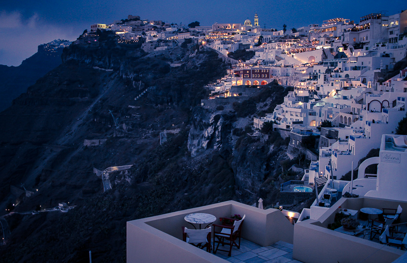 Lo imperdible en Santorini