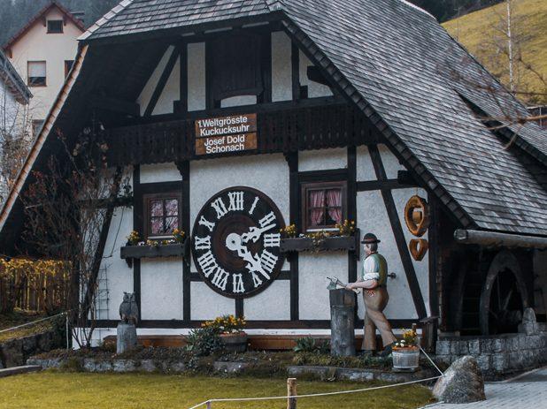 relojes cucú en Selva Negra Alemania